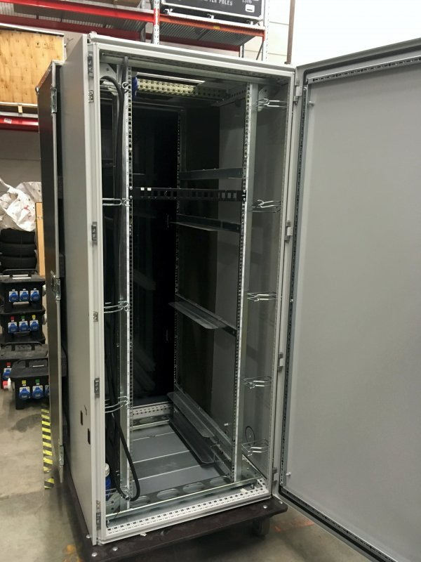 Rittal full height and depth rack