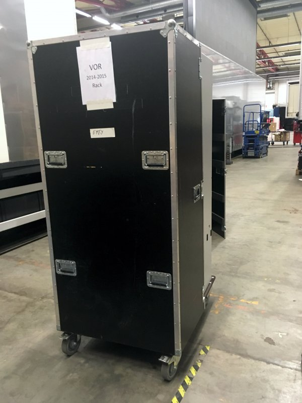 Case for two Rittal racks